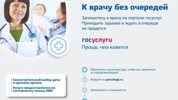 Пошаговый процесс записи к врачу через портал Госуслуги, вызов специалиста на дом