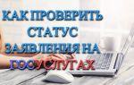 Как проверить статус заявления на сайте Госуслуги: подробная инструкция, срок обработки заявки