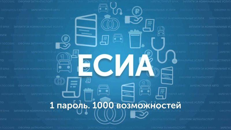ЕСИА регистрация и вход личный кабинет