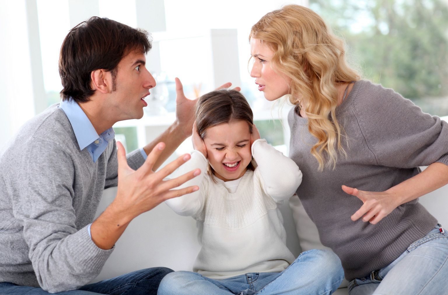 конфликт между родителями