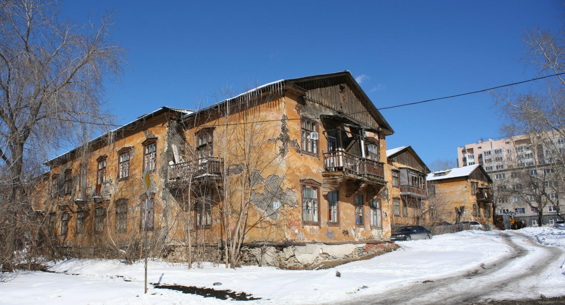 ветхий многоквартирный дом