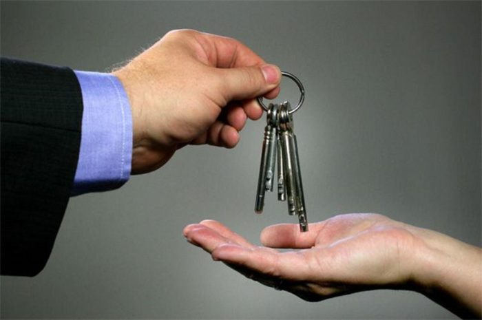 передача ключей в руки