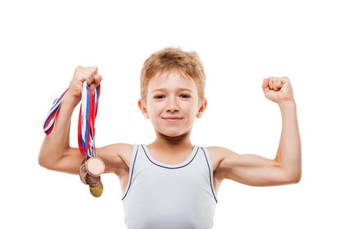 медали за спортивные достижения ребенка