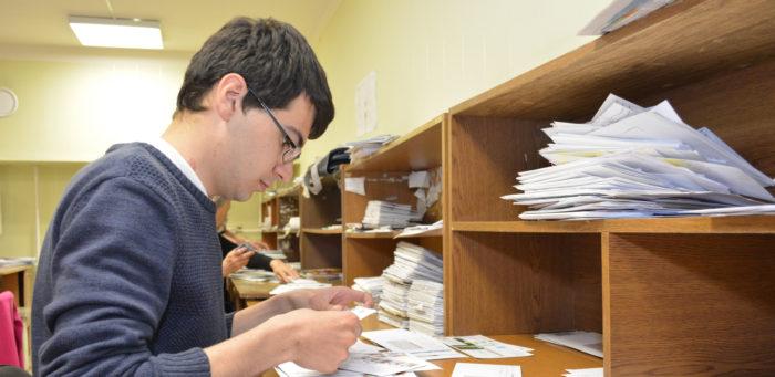архив с документами и бумагами