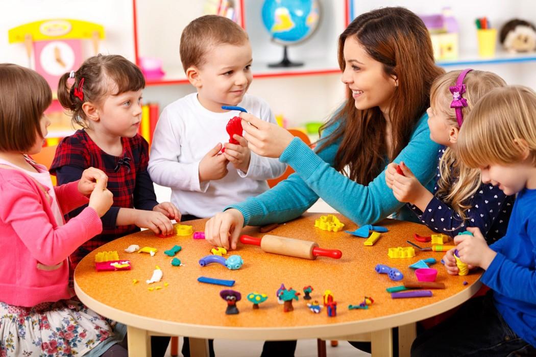 игровая комната в детском саду