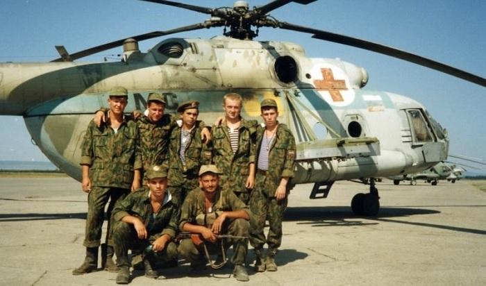 Люди побывавшие в горячей точке Чечня
