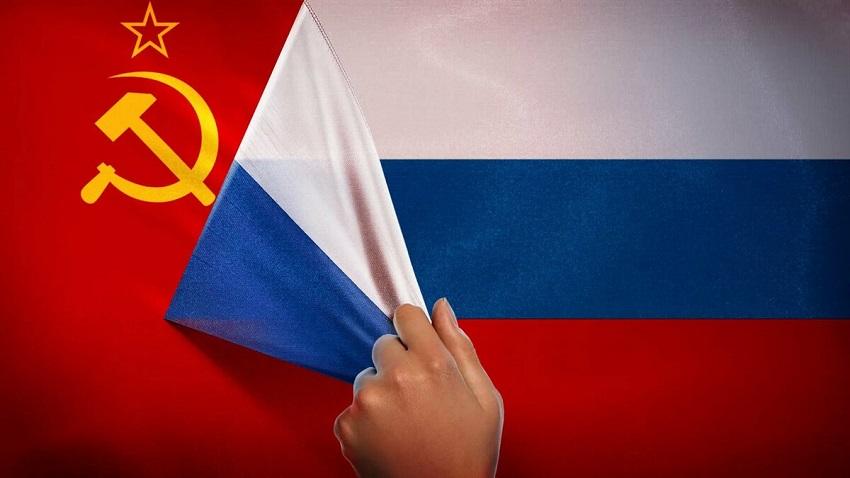 флаг ссср и россии