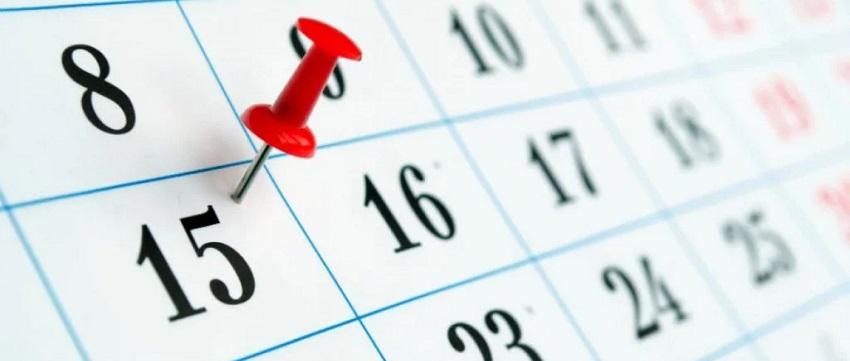 15 число календарь