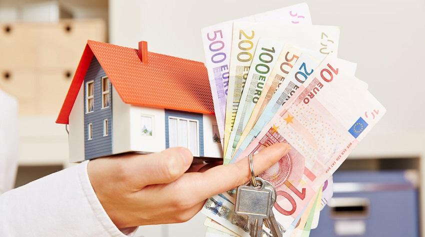 домик, ключи, деньги