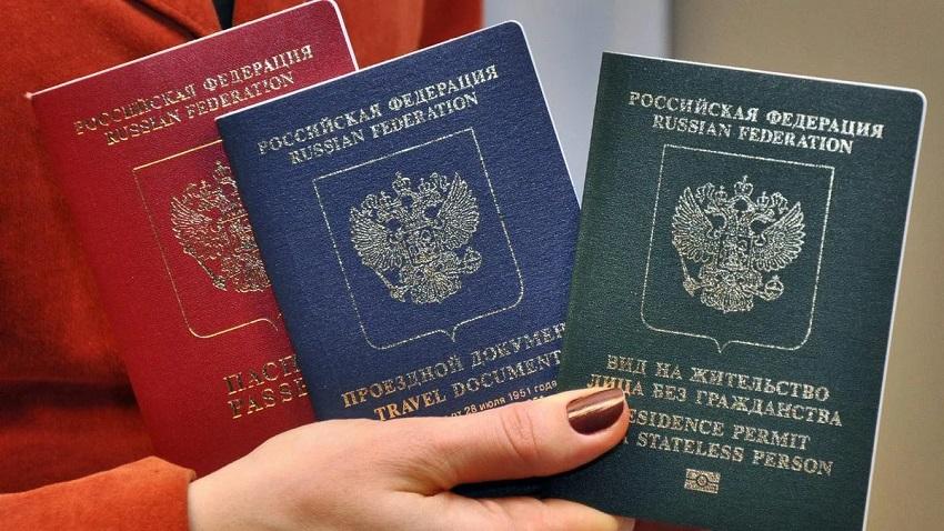 паспорт и вид на жительство