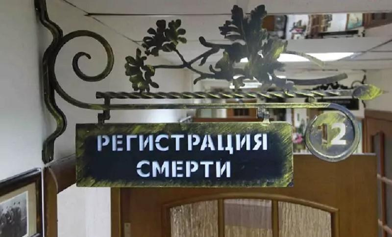 регистрация смерти