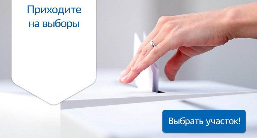 приходите на выборы